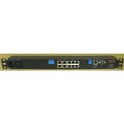 KVM переключатель APC NBRK0200 (NBRK0200)KVM переключатели APC<br>Переключатель APC NBRK0200 NetBotz Rack Monitor 200<br>