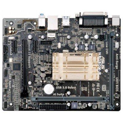 Материнская плата ПК ASUS N3050M-E (90MB0LQ0-M0EAY0)Материнские платы ПК ASUS<br>Материнская плата Asus N3050M-E 2xDDR3 mATX AC`97 8ch(7.1) GbLAN+VGA+HDMI<br>