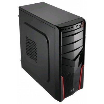 Корпус системного блока Aerocool V2X Red Edition Red (4713105952650)Корпуса системного блока Aerocool<br>Корпус Aerocool V2X Red , ATX, без БП, 1х USB 3.0, 2х USB 2.0. 1х 92мм вентилятор, петля для замка.<br>
