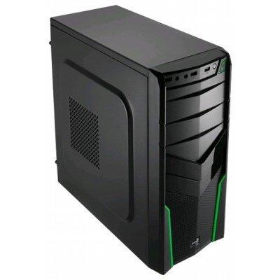 Корпус системного блока Aerocool V2X Green Edition Green (4713105952667)Корпуса системного блока Aerocool<br>Корпус Aerocool V2X Green , ATX, без БП, 1х USB 3.0, 2х USB 2.0. 1х 92мм вентилятор, петля для замка<br>