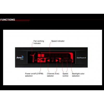 Контроллер системы охлаждения Aerocool Cool Touch-E черный (4713105951547)