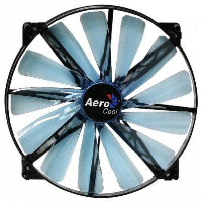 Система охлаждения корпуса ПК Aerocool Lightning 20cm Blue LED (4713105951417)