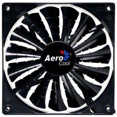 Система охлаждения корпуса ПК Aerocool Shark Fan Black Edition 12cm (EN55413)Системы охлаждения корпуса ПК Aerocool<br>Вентилятор Aerocool Shark 12см Black Edition (без подсветки), 3+4 pin, 32.5 CFM, 800 RPM, 12.6 dBA<br>