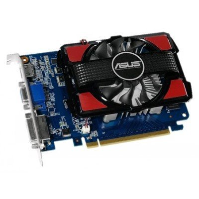 Видеокарта ПК ASUS GeForce GT 730 700Mhz PCI-E 2.0 2048Mb 1600Mhz 128 bit DVI HDMI HDCP (90YV06K0-M0NA00)Видеокарты ПК ASUS<br>Видеокарта 2Gb &amp;lt;PCI-E&amp;gt; ASUS GT730 BRK с CUDA &amp;lt;GFGT730, GDDR3, 128 bit, VGA, DVI, HDMI, Retail (GT730<br>