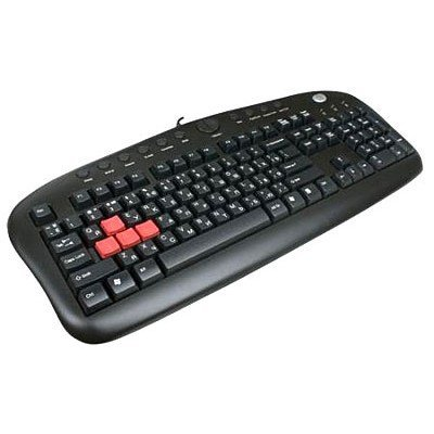 Клавиатура A4Tech KB-28G Black USB (KB-28G)