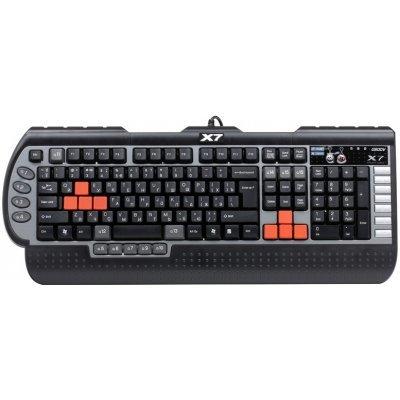 Клавиатура A4Tech X7-G800V (X7-G800V)Клавиатуры A4-Tech<br>Клавиатура A4Tech X7-G800V, USB, память-96Кб, влагозащищенная, 15 программируемых клавиш, 7 мультиме<br>