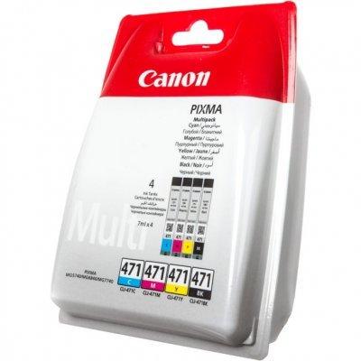 Картридж для струйных аппаратов Canon CLI-471 BK для MG5740, MG6840, MG7740. Чёрный (0400C001)Картриджи для струйных аппаратов Canon<br>Картридж Canon CLI-471 BK для MG5740, MG6840, MG7740. Чёрный. 398 страниц.<br>