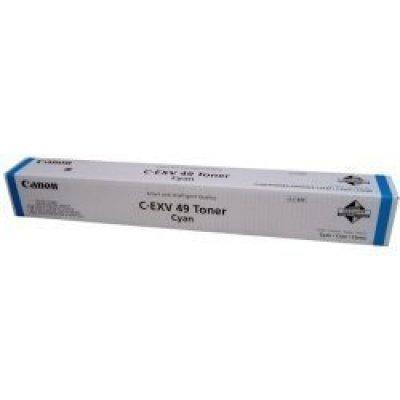 Тонер для лазерных аппаратов Canon C-EXV49C для серии iR-ADV C33xx. Голубой (8525B002) тонер canon c exv 44c для ir adv c9280 pro голубой 6943b002