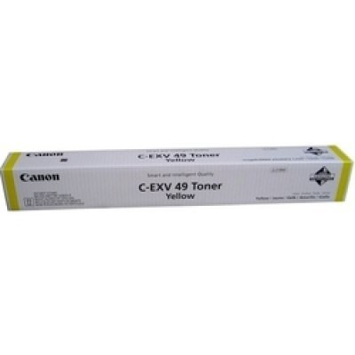 Тонер для лазерных аппаратов Canon C-EXV49Y для серии iR-ADV C33xx. Жёлтый (8527B002)Тонеры для лазерных аппаратов Canon<br>Тонер Canon C-EXV49Y для серии iR-ADV C33xx. Жёлтый. 19000 страниц.<br>