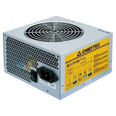 Блок питания ПК Chieftec GPA-400S8 400W (GPA-400S8)Блоки питания ПК Chieftec<br>Блок питания  Chieftec 400W OEM GPA-400S8 [iARENA] v.2.3, КПД &amp;gt; 80%, A.PFC, 1x PCI-E (6+2-Pin), 3x S<br>