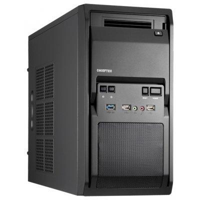Корпус системного блока Chieftec LT-01B w/o PSU (LT-01B w/o PSU)Корпуса системного блока Chieftec<br>компьютерный корпус Mini-Tower<br>    без блока питания<br>    форм-фактор mATX<br>    спереди: USB x3, наушн., микр.<br>    материал: сталь<br>    габариты: 180x352x425 мм<br>    вес 4.5 кг<br>