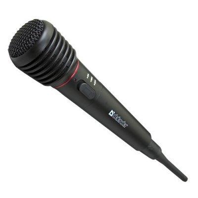 Микрофон Defender MIC-142 (64142) микрофон беспроводной defender mic 140