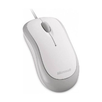 Мышь Microsoft Basic Optical Mouse White USB (4YH-00008) мышь проводная gamdias ourea optical чёрный usb