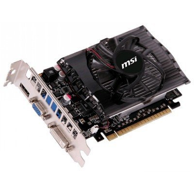 Видеокарта ПК MSI GeForce GT 730 700Mhz PCI-E 2.0 2048Mb 1800Mhz 128 bit DVI HDMI HDCP V2 (N730-2GD3V2)