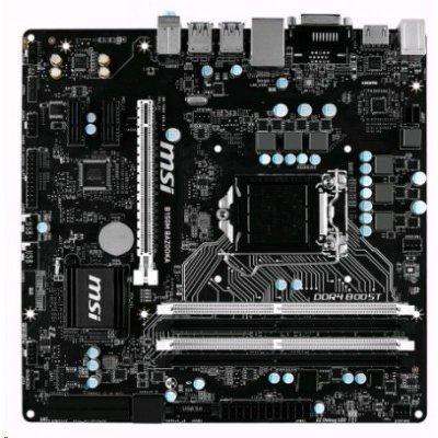 Материнская плата ПК MSI B150M BAZOOKA (B150M BAZOOKA)Материнские платы ПК MSI<br>Мат. плата MSI B150M BAZOOKA &amp;lt;S1151, B150, 4DDR4, PCI-E16x, HDMI, DVI, SATA III, GB Lan, USB3.1, ATX<br>