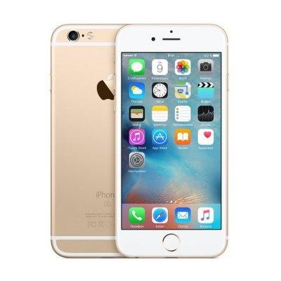 Смартфон Apple iPhone 6s 64Gb Gold Золотистый (MKQQ2RU/A)Смартфоны Apple<br><br>