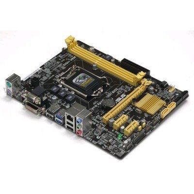 Материнская плата ПК ASUS H81M-P PLUS (90MB0KS0-M0EAY0)Материнские платы ПК ASUS<br>Socket 1150, Intel H81, 2xDDR3, 7.1CH, 1000 Мбит/с, USB3.0, D-Sub, DVI, HDMI, mATX, Retail<br>