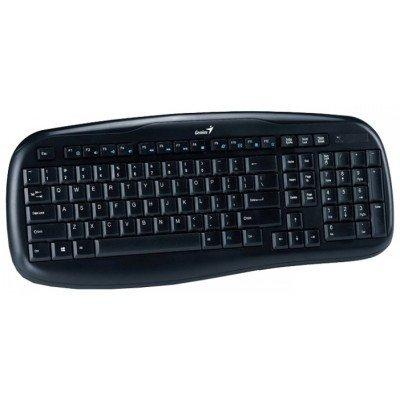 Комплект клавиатура+мышь Genius KB-8000 Black USB (31340005103) клавиатура genius kb m200 black usb