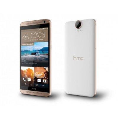 Смартфон HTC One E9S Dual SIM белый (One E9S Dual SIM белый)Смартфоны HTC<br>дисплей 5,5 дюймов с разрешением 1280х720 пикселей; 64-битный восьмиядерный процессор MediaTek MT6752M; ОЗУ 2 Гб; ПЗУ 16 Гб<br>