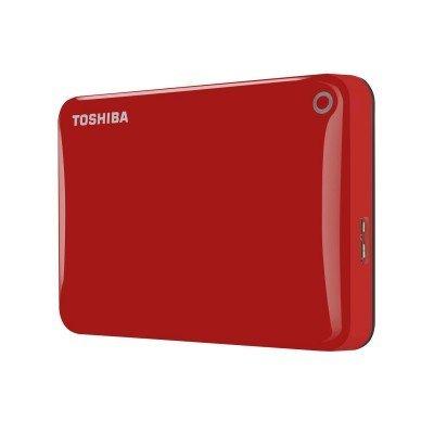 Внешний жесткий диск Toshiba 500Gb CANVIO Connect II 2.5 USB 3.0 Red (HDTC805ER3AA) (HDTC805ER3AA)Внешние жесткие диски Toshiba<br>Внешний жесткий диск 500 Gb Toshiba CANVIO Connect II 2.5 USB 3.0 Red (HDTC805ER3AA)<br>