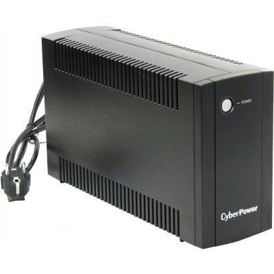 Источник бесперебойного питания CyberPower UT650E (1PE-C000512-00G)Источники бесперебойного питания CyberPower<br>ИБП CyberPower UT650E 650VA/360W RJ11/45 (2 EURO)<br>
