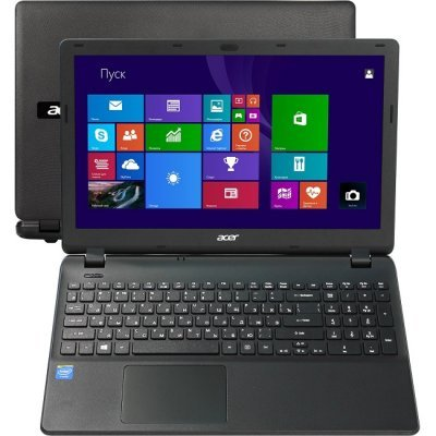 Ноутбук Acer Extensa EX2519-C9NG (NX.EFAER.018) (NX.EFAER.018)Ноутбуки Acer<br>Extensa EX2519-C9NG  15.6   HD(1366x768) nonGLARE/Intel Celeron N3050 2.16GHz Dual/4GB/500GB/GMA HD/DVD-RW/WiFi/BT4.0/1.3MP/SD/USB3.0/3cell/2.40kg/Linux/1Y/BLACK<br>