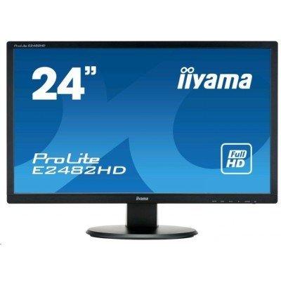 цена на Монитор IIYAMA 23,6 ProLite E2482HD-1 (E2482HD-B1)