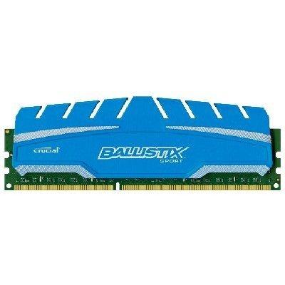 Модуль оперативной памяти ПК Crucial BLS8G3D169DS3CEU 8Gb DDR3 (BLS8G3D169DS3CEU)Модули оперативной памяти ПК Crucial<br>Crucial 8GB DDR3 1600 MT/s (PC3-12800) CL9 @1.5V Ballistix Sport XT UDIMM 240pin<br>