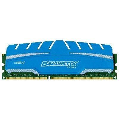 Модуль оперативной памяти ПК Crucial BLS8G3D18ADS3CEU 8Gb DDR3 (BLS8G3D18ADS3CEU)Модули оперативной памяти ПК Crucial<br>Crucial 8GB DDR3 1866 MT/s (PC3-14800) CL10 @1.5V Ballistix Sport XT UDIMM 240pin<br>