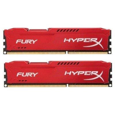 Модуль оперативной памяти ПК Kingston HX318C10FRK2/8 8Gb DDR3 (HX318C10FRK2/8)Модули оперативной памяти ПК Kingston<br>Kingston HyperX DDR-III 8GB (PC3-14900) 1866MHz Kit (2 x 4Gb) FURY Red Series<br>
