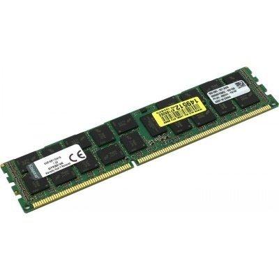 Модуль оперативной памяти ПК Kingston KVR16LR11D4/16HB 16Gb DDR3 (KVR16LR11D4/16HB)Модули оперативной памяти ПК Kingston<br>Kingston DDR-III 16GB (PC3-12800) 1600MHz ECC Reg Dual Rank, x4 1.35V w/TS (Hynix)<br>