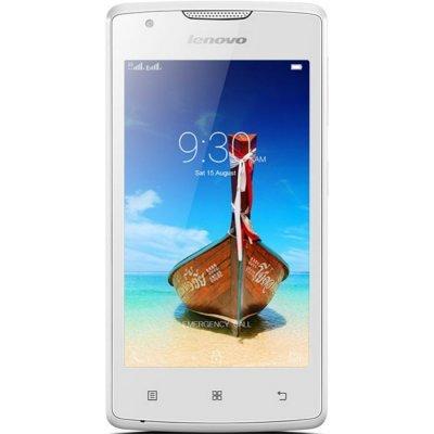 Смартфон Lenovo A1000 Dual SIM белый (PA1R0007RU)Смартфоны Lenovo<br>4(800x480)/ SC7731(1.3Ghz)/ 1Gb/ 8Gb/ Dual-SIM/ Android 5.0<br>