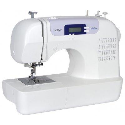 Швейная машина Brother RS240 (RS240)Швейные машины Brother<br>швейная машина<br>электронное управление<br>плавная работа без вибрации<br>40 швейных операций<br>автоматическая обработка петли<br>обметочная строчка<br>дисплей<br>рукавная платформа<br>