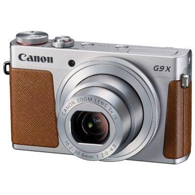 Цифровая фотокамера Canon PowerShot G9 X серебристо-коричневая (0924C002)Цифровые фотокамеры Canon<br><br>