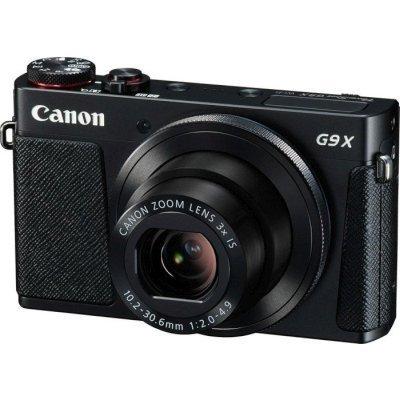 Цифровая фотокамера Canon PowerShot G9 X черная (0511C002) зарядное устройство для фотоаппарата canon powershot