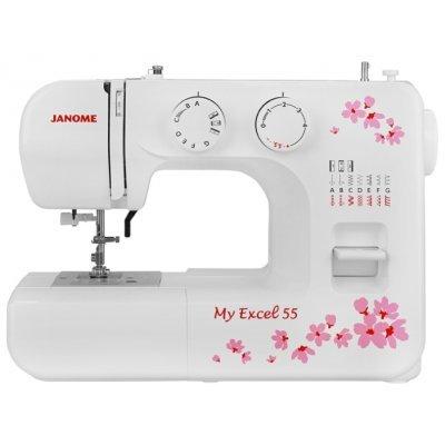 Швейная машина Janome MX 55 (MX 55) швейная машина janome dresscode