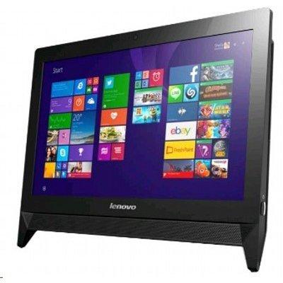 Моноблок Lenovo IdeaCentre C20-05 (F0B3005QRK) (F0B3005QRK)Моноблоки Lenovo<br>Моноблок Lenovo c20-05 19.5 Full HD E1 7010/2Gb/500Gb 7.2k/R2/DVDRW/Free DOS/клавиатура/мышь/Cam/черный 1920x1080<br>