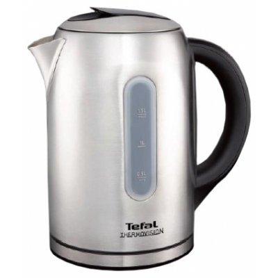 Электрический чайник Tefal KI410530 (1500636823)Электрические чайники Tefal<br>чайник<br>объем 1.5 л<br>мощность 2400 Вт<br>закрытая спираль<br>установка на подставку в любом положении<br>стальной корпус<br>выбор температуры нагрева воды<br>дисплей<br>