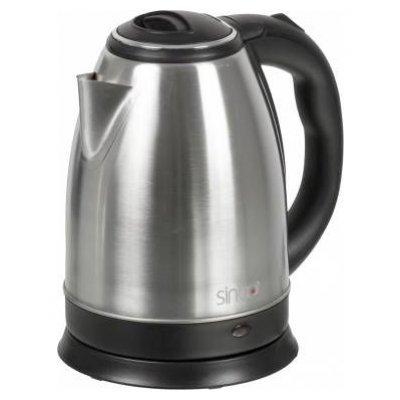 Электрический чайник Sinbo SK 7334 (SK 7334)Электрические чайники Sinbo<br>чайник<br>объем 1.8 л<br>мощность 2200 Вт<br>закрытая спираль<br>установка на подставку в любом положении<br>стальной корпус<br>индикация включения<br>