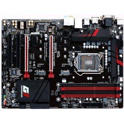 Материнская плата ПК Gigabyte GA-H170-Gaming 3 DDR3 (GA-H170-Gaming 3 DDR3)Материнские платы ПК Gigabyte<br>MB GIGABYTE H170 s1151 (Core&amp;#8482; i3/i5/i7/Celeron), VGA(HDMI+ DVI-D+D-SUB), 4xDDR3(32Gb), 2xPCI-E x16,2xPCI-Ex1, 2 x PCI slots, 2/4/5.1/7.1CHAudio, 1xGBL, 6 x SATA 6Gb/s, 2 x SATA Express, 2 x M.2 Socket 3, 8 x USB 3.0/2.0, 6 x USB 2.0/1.1, 1xPS/2, ATX<br>