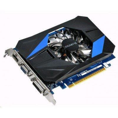 Видеокарта ПК Gigabyte GeForce GT 730 1066Mhz PCI-E 2.0 1024Mb 5000Mhz 64 bit DVI HDMI HDCP (GV-N730D5OC-1GI) видеокарта 2048mb gigabyte geforce gtx950 pci e 128bit gddr5 dvi hdmi 3xdp hdcp gv n950xtreme 2gd retail
