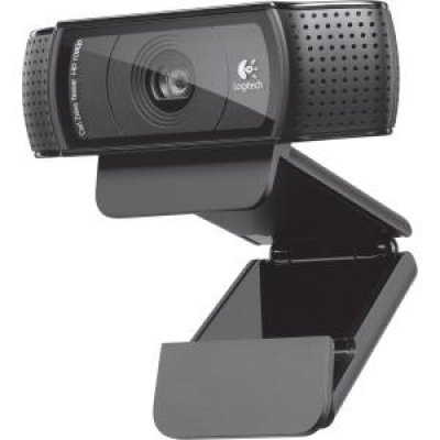 Веб-камера Logitech HD Pro Webcam C920 (960-001055) (960-001055) 100% genuine 100% logitech webcam c930e carl zeiss hd webcam ddp asos with retail package