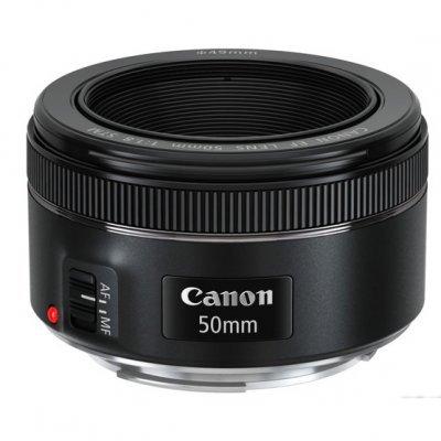 Объектив для фотоаппарата Canon EF 50MM F1.8 STM 50мм-1.8 (0570C005) slr объектив ef 50mm f 1 8 stm 50 1 8
