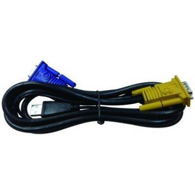Кабель KVM D-Link (DKVM-IPVUCB/10) 1.8м (DKVM-IPVUCB/10)Кабели KVM D-Link<br>Кабель D-Link 1.8м (DKVM-IPVUCB/10)<br>