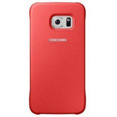 Чехол для смартфона Samsung Galaxy S6 SM-G920F коралловый (EF-YG920BPEGRU) (EF-YG920BPEGRU)Чехлы для смартфонов Samsung<br>Для Samsung Galaxy S6/S6 Duos. Красный. Полиуретан.<br>