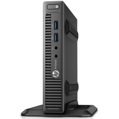 Настольный ПК HP ProDesk 400 G2 DM (T4R49ES) (T4R49ES)Настольные ПК HP<br>Core i3-6100T,4GB DDR3-1600 DIMM (1x4GB),500GB 7200 RPM,SuperMulti DVDRW,USB Slim kbd,USBmouse,Stand,BCM 802.11nBT,Win10Pro+Win7Pro(64-bit),1-1-1 Wty<br>