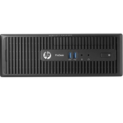 Настольный ПК HP ProDesk 600G2 SFF (T4J87EA) (T4J87EA)Настольные ПК HP<br>Core i3-6100,4GB DDR3-1600 DIMM (1x4GB),500GB 7200 RPM,SuperMulti DVDRW,USB Slim kbd,USBmouse,Platinum,FreeDOS,3-3-3 Wty<br>
