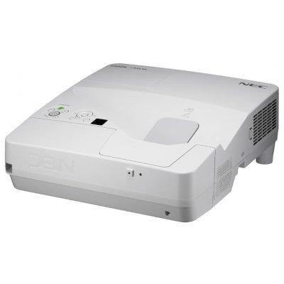 Проектор NEC NP-UM351W (UM351W)Проекторы NEC<br>NEC projector UM351W LCD Ultra-short, 1280x800 WXGA, 3500lm, 6000:1, D-Sub, HDMI, RCA, RJ-45, Lamp:6000hrs, incl. Wall-mount<br>