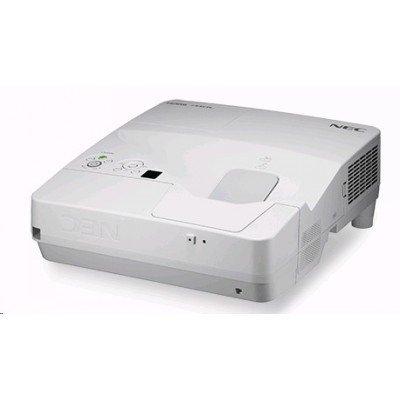 Проектор NEC NP-UM361X (UM361X)Проекторы NEC<br>NEC projector UM361X LCD Ultra-short, 1024x768 WXGA, 3600lm, 6000:1, D-Sub, HDMI, RCA, RJ-45, Lamp:6000hrs, incl. Wall-mount<br>