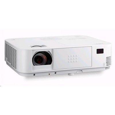 Проектор NEC NP-M403X (M403X)Проекторы NEC<br>NEC projector M403X DLP, 1024x768 XGA, 4000lm, 10000:1, D-Sub, HDMI, RCA, RJ-45, Lamp:8000hrs<br>